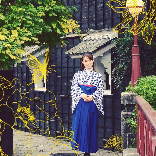矢絣はかまレンタル,日本大正村