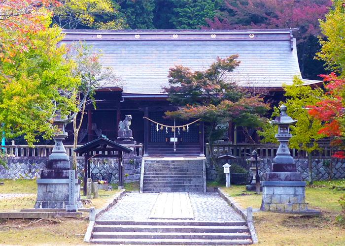 史跡・歴史探訪コース 八王子神社,日本大正村