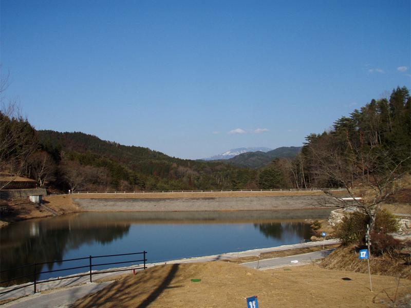 大正池 大正村明智の森 春,日本大正村