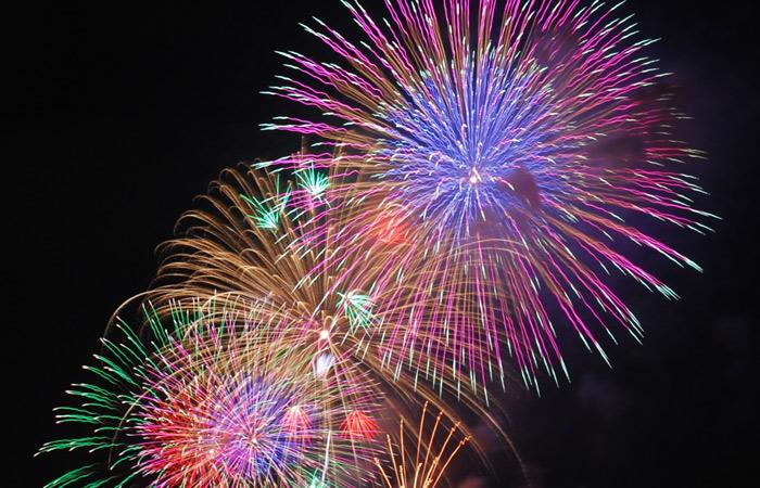 イベント 8月14日 明智町納涼花火大会,日本大正村